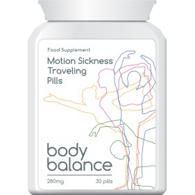BODY BALANCE MOTION SICKNESS TRAVELING PILLS STOP NAUSEA