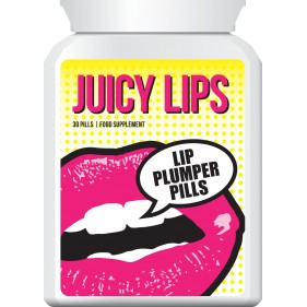 JUICY LIPS LIP PLUMPER PILLS LIP ENHANCEMENT TABLETS BIG POUT