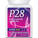 P28 ULTRA FAST PERIOD PAIN RELIEF TABLETS PMT