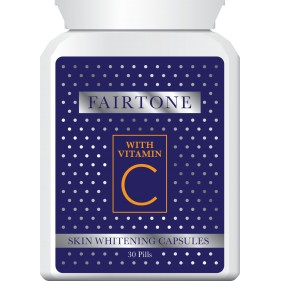 FAIRTONE WHITENING PILLS WITH VITAMIN C LIGHTER