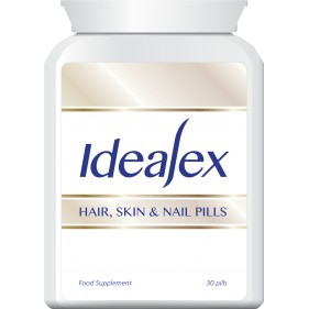 IDEALEX HAIR SKIN AND NAIL PILLS TABLETS MAX STRENGTH