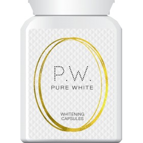 PURE WHITE WHITENING CAPSULES SKIN LIGHTENING TABLETS