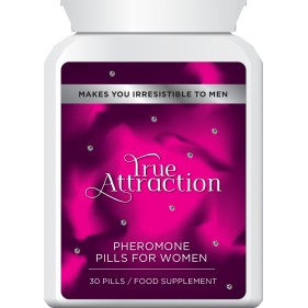 TRUE ATTRACTION PHEROMONE PILLS FOR WOMEN – BECOME