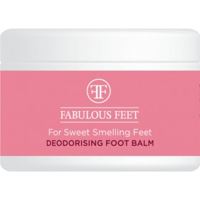 FABULOUS FEET DEODORISING FOOT BALM FOR SWEET SMELLING FEET