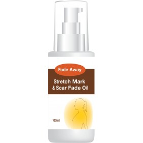FADE AWAY STRETCH MARK & SCAR FADE OIL – NO MORE STRETCH MARKS
