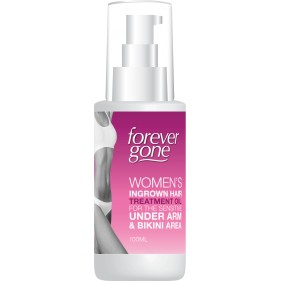 FOREVER GONE WOMENS INGROWN HAIR TREATMENT OIL FOR UNDERARM & BIKINI