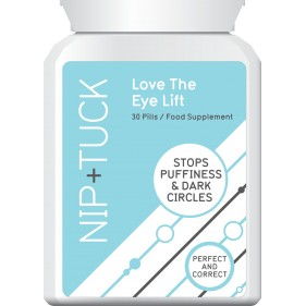 NIP & TUCK LOVE THE EYE LIFT STOPS PUFFINESS & DARK CIRCLES PILLS