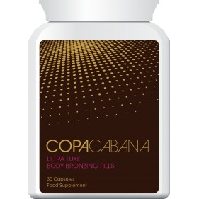 Copacabana Ultra Luxe Body Bronzing Pills