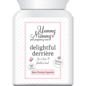 Yummy Mummy Delightful Derriere Bum Toning Capsules